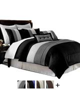 Chezmoi Collection Comforter Bed in a Bag set