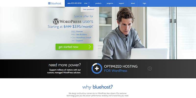 Detailed review of Bluehost Web Hosting