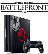 Sony PlayStation 4 Pro Limited Edition Console Star Wars Battlefront II Bundle