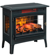 Duraflame DFI-5010-01 Electric Fireplace Stove with 3D Flame Effect