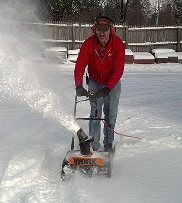Review of WORX WG650 Electric Snow Thrower
