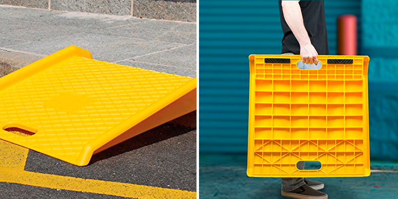 Review of Stalwart 75-CAR1030 Heavy Duty Portable Poly Ramp