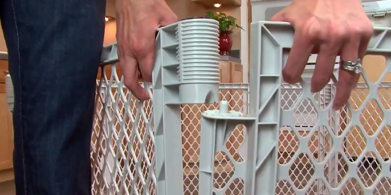 Detailed review of North States Indoor/Outdoor Superyard Baby Gate