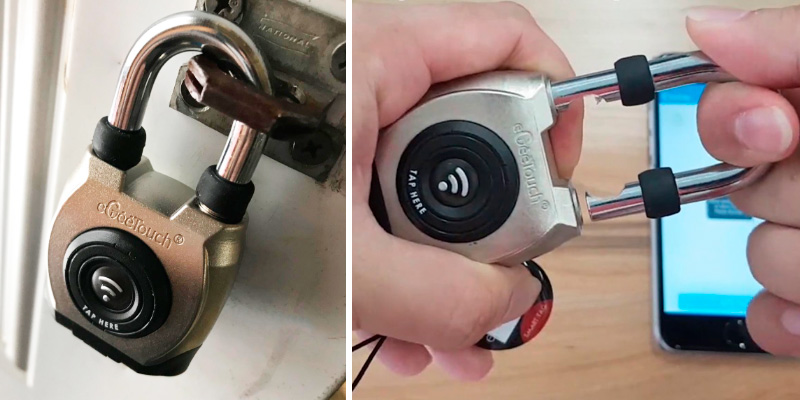 Review of eGeeTouch 3rd Gen Outdoor Smart Padlock