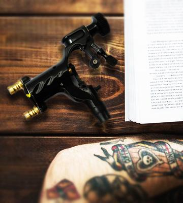 Review of Yuelong Rotary Liner Shader Body Art Tattoo Machine