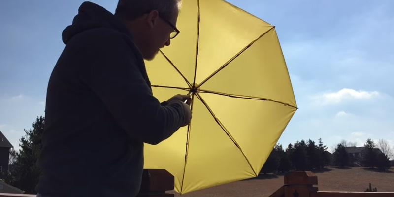 Review of CrownCoast Compact Umbrella