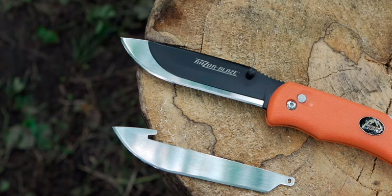 Review of Outdoor Edge RazorPro RO-10 Replaceable Razor Blade Hunting Knife with Gutting Tool