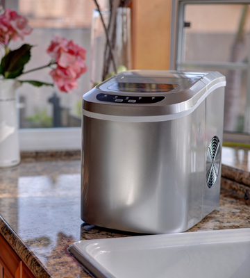Review of Costway Sliver Counter Top Ice Maker
