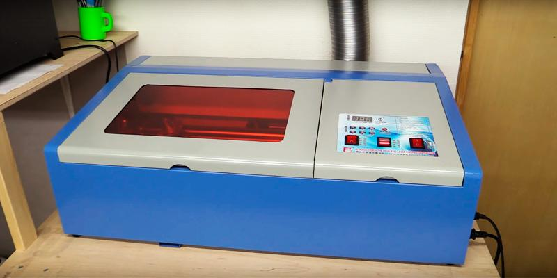Review of Eteyo Laser Engraving Machine 40W CO2 Laser Engraver