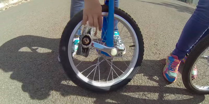 "AW 16"" Inch Wheel Unicycle in the use"