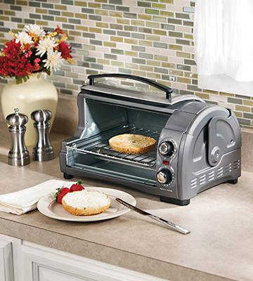 Review of Hamilton Beach 31334 Easy Reach Toaster Oven, Pizza Oven