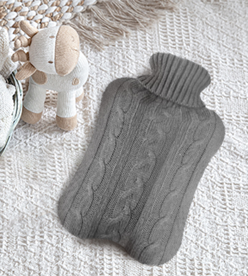 Review of All one tech Transparent Classic Rubber Hot Water Bottle