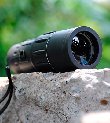 Review of Ohuhu Dual Focus Monocular Telescope / Monocular Scope for Hunting, Camping, Surveillance