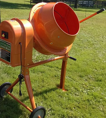 Review of Generic Import 36 RPM Electric Cement Mixer