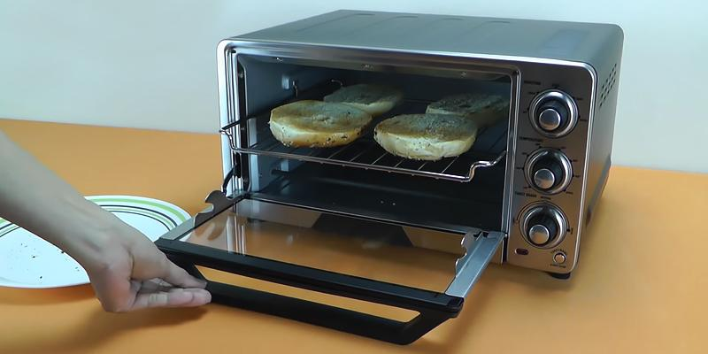 Cuisinart TOB-40 Custom Classic Toaster Oven in the use