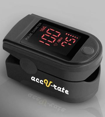 Review of Acc U Rate CMS 500DL Pulse Oximeter