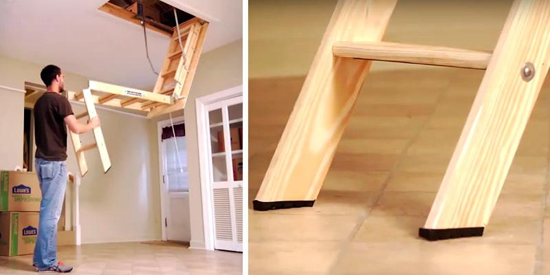 Review of Louisville S254P Wooden Attic Ladder : wooden attic stairs  - Aeropaca.Org