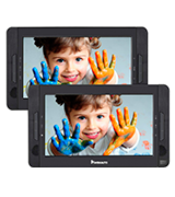 NaviSkauto Dual Screen Portable DVD Player