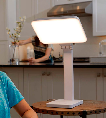 Review of Theralite Aura Bright Light Therapy Lamp
