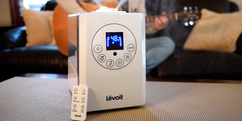 Review of Levoit LV600HH 6L Warm and Cool Mist Ultrasonic Humidifier
