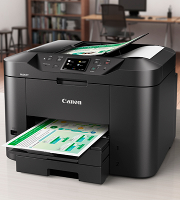 Review of Canon MB2720 Wireless All-in-one Printer