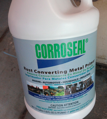 Review of Corroseal 82331 Water-Based Rust Converter