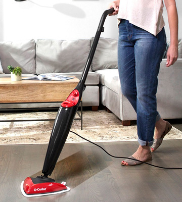 Review of O-Cedar SYNCHKG061608 Microfiber Steam Mop