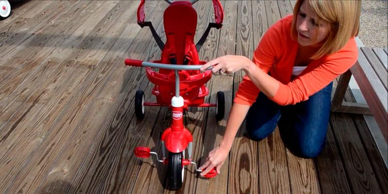 Radio Flyer 811 4-in-1 Trike in the use