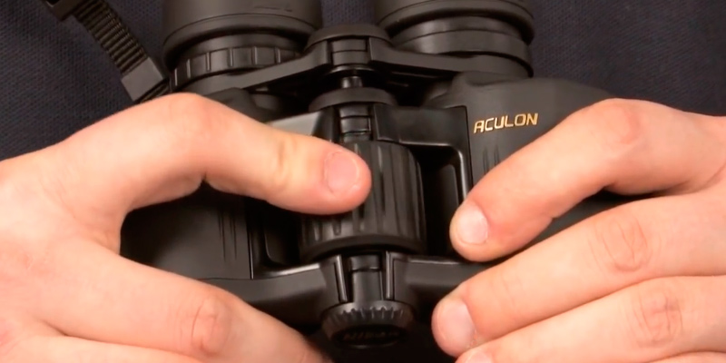 Nikon 8246 Aculon A211 10x42 Binoculars in the use