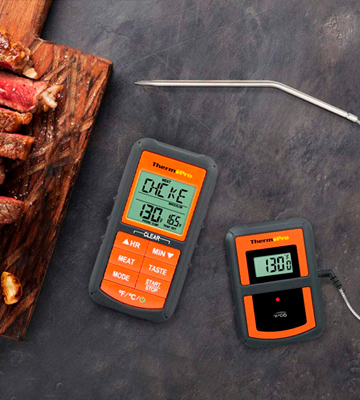 Review of ThermoPro TP-07 Wireless Remote Digital Cooking Food Meat Thermometer
