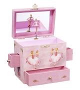 Enchantmints B1018 Ballerina Musical Jewelry Box