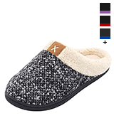 ULTRAIDEAS Women's Slippers Women's Cozy Memory Foam Slippers