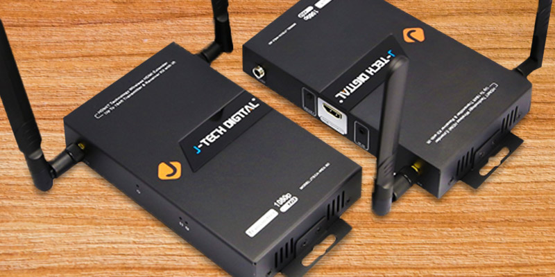 Detailed review of J-Tech Digital HDbitT Series 1X2 Wireless HDMI Extender