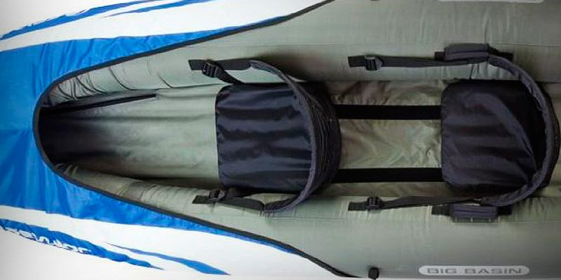 Detailed review of Sevylor Big Basin 3-Person Kayak