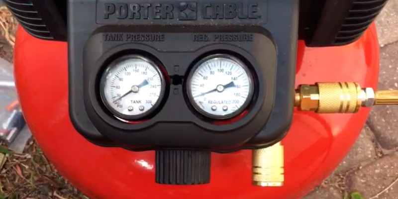 Review of PORTER-CABLE C2002 6-Gallon 150 PSI Pancake Compressor
