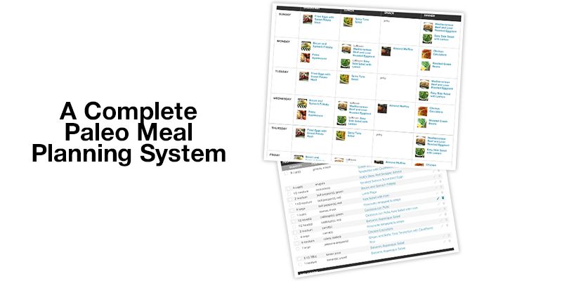 Paleo Plan Meal Plans application