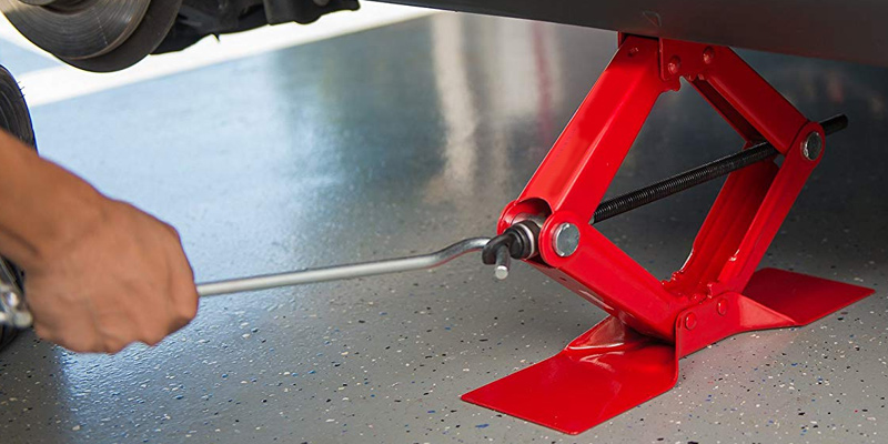 Detailed review of Torin Jack T10152 Big Red Steel Scissor Jack (1.5 Ton Capacity)
