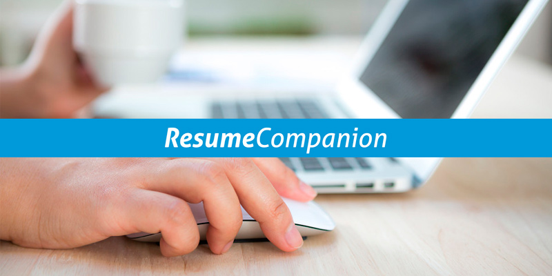 Detailed review of ResumeCompanion Resume Builder