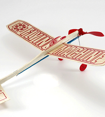 Review of Guillow Balsa Wood Flying Machine Kit