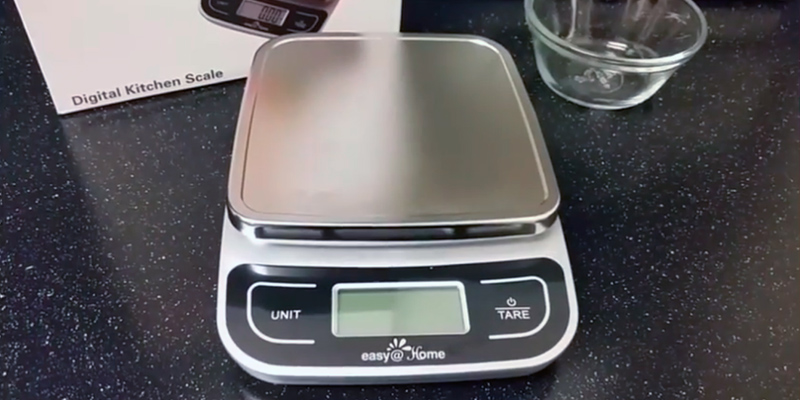 Review of Easy@Home EKS-202 Digital Kitchen Food Scale