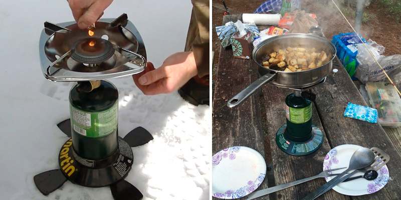 Review of Coleman Portable Bottletop Propane Camp Stove with Adjustable Burner