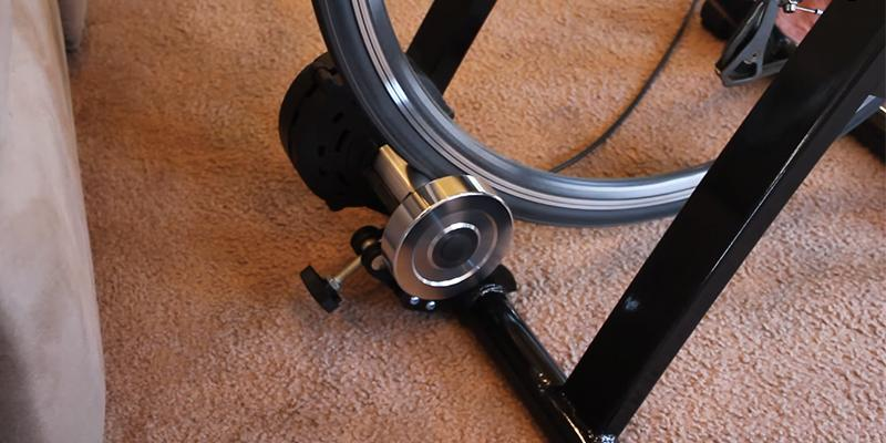FDW Magnet Steel Bike Bicycle Trainer in the use