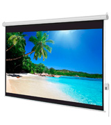Best Choice Products SKY1186 Motorized Electric Auto HD Projection Screen, 100-Inch 4:3 Display