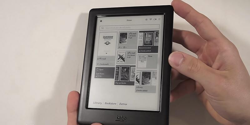 "Review of Kobo Glo HD 6"" Digital eBook Reader with Touchscreen"