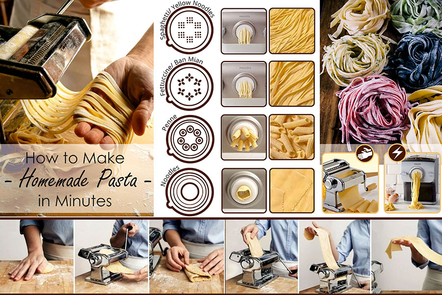Comparison of Pasta Makers