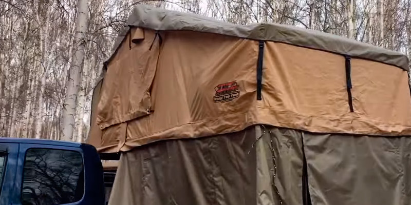 Review of Tuff Stuff Ranger Overland Rooftop Tent with Annex Room
