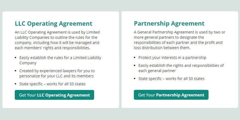LawDepot Partnership Agreement in the use