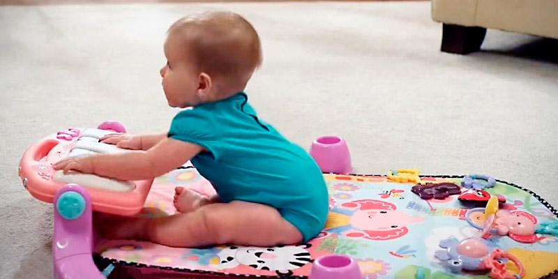 Fisher-Price Kick and Play Piano Mat in the use