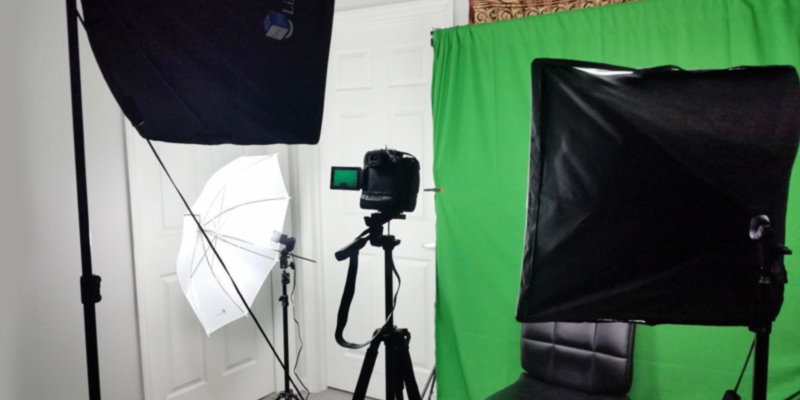 LimoStudio VAGG1388 Background Support System in the use