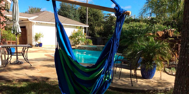 Review of Hammock Sky Large Brazilian Hammock Chair